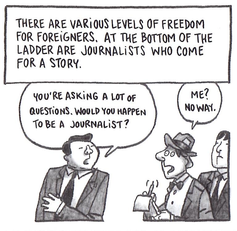 JournalistsHaveAHardTimeInNorthKorea